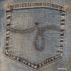 "Jag Jeans Jeans - Jag Blue Denim Jeans 27""x40"" Zipper Closure"